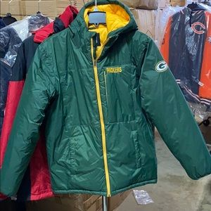 NFL Packers padded Jacket